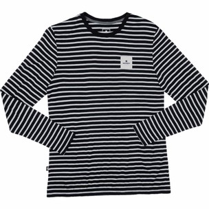 SAYSKY Striped Base 165 Merino Long Sleeve Running Tee