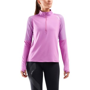 2XU GHST 1/2 Zip Long Sleeve Womens Top