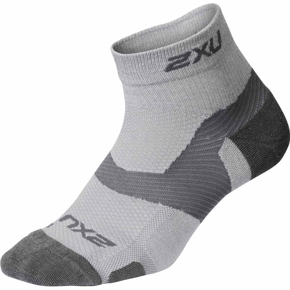 2XU Vectr Merino LC 1/4 Crew Socks