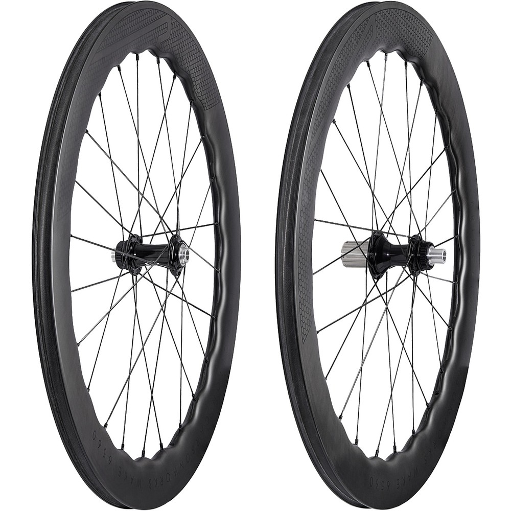 Princeton CarbonWorks Wake 6560 Tubeless Disc White Industries Wheelset
