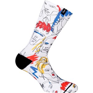 Pacific & Co. Street Faces Socks