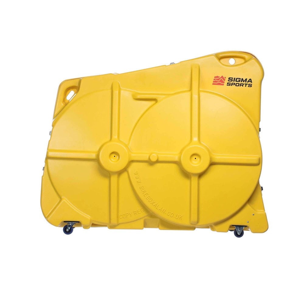 Bike Box Alan Bike Transport Case (Yellow)