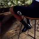Black Sheep Cycling Perfect Crew Dot Socks