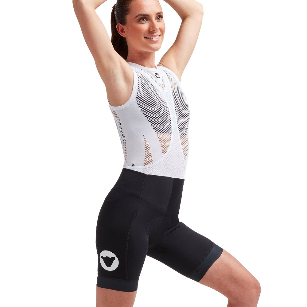 Black Sheep Cycling Essentials Team Shorter Length Womens Bib Short