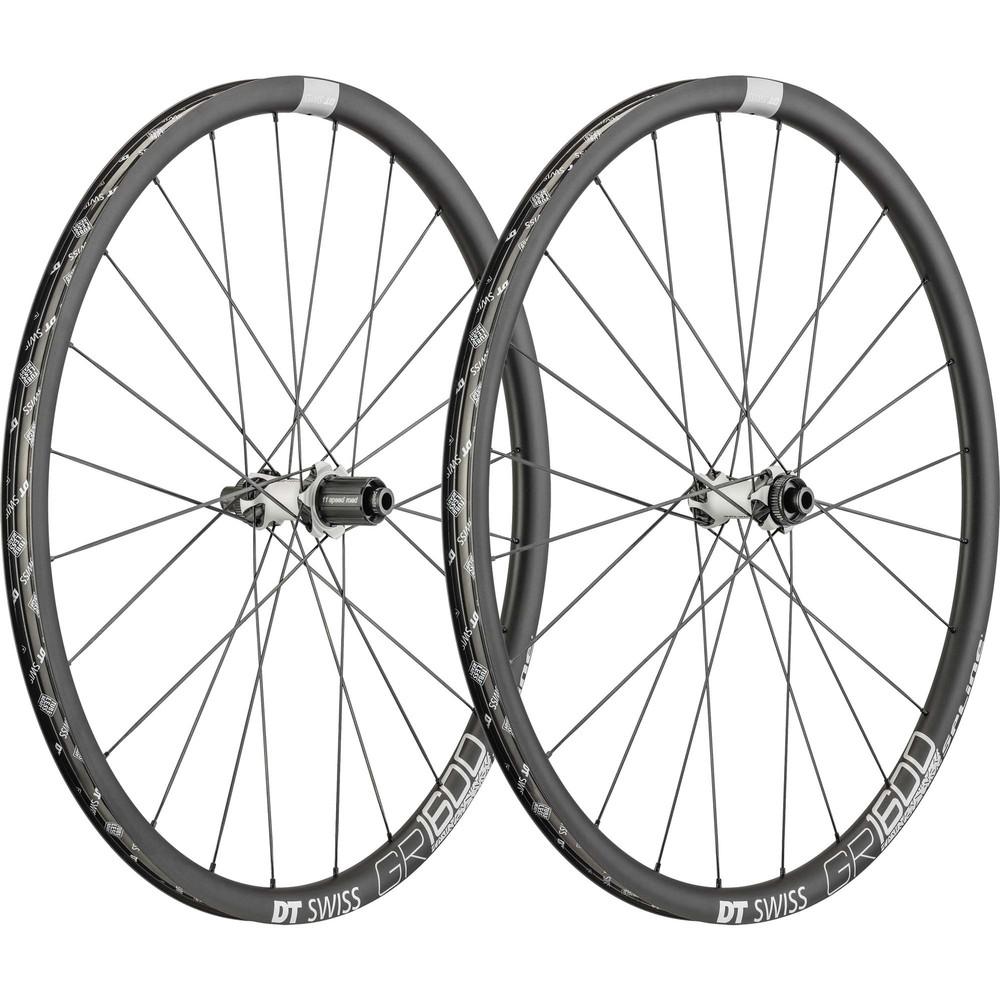DT Swiss GR 1600 Spline Clincher Disc Brake Wheelset