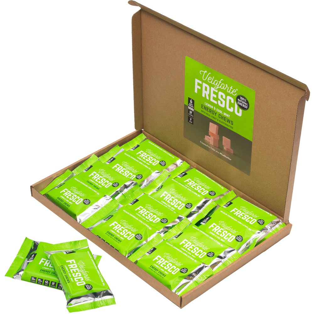 Veloforte Fresco Cubos Energy Chews Box Of 20