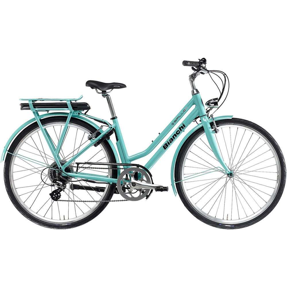 Bianchi E-Spillo Classic Altus 8 Ladies Electric Hybrid Bike 2021