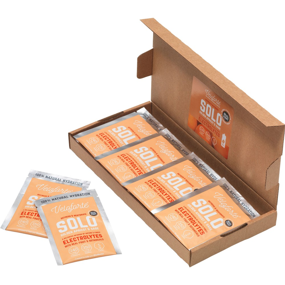 Veloforte Solo Hydration Sachet Box Of 12 X 7g