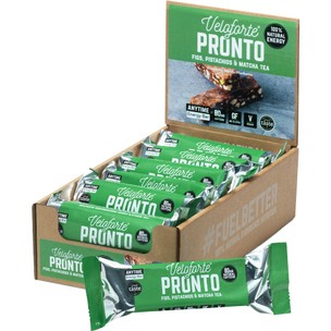 Veloforte Pronto Natural Energy Bar With Caffeine Box Of 12 X 70g