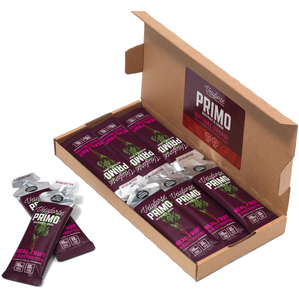 Veloforte Primo Nectar Energy Gel Box Of 12 X 33g