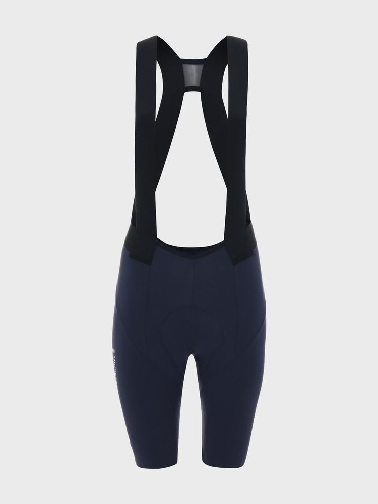 Chroma Women's Bib Short Navy Blue