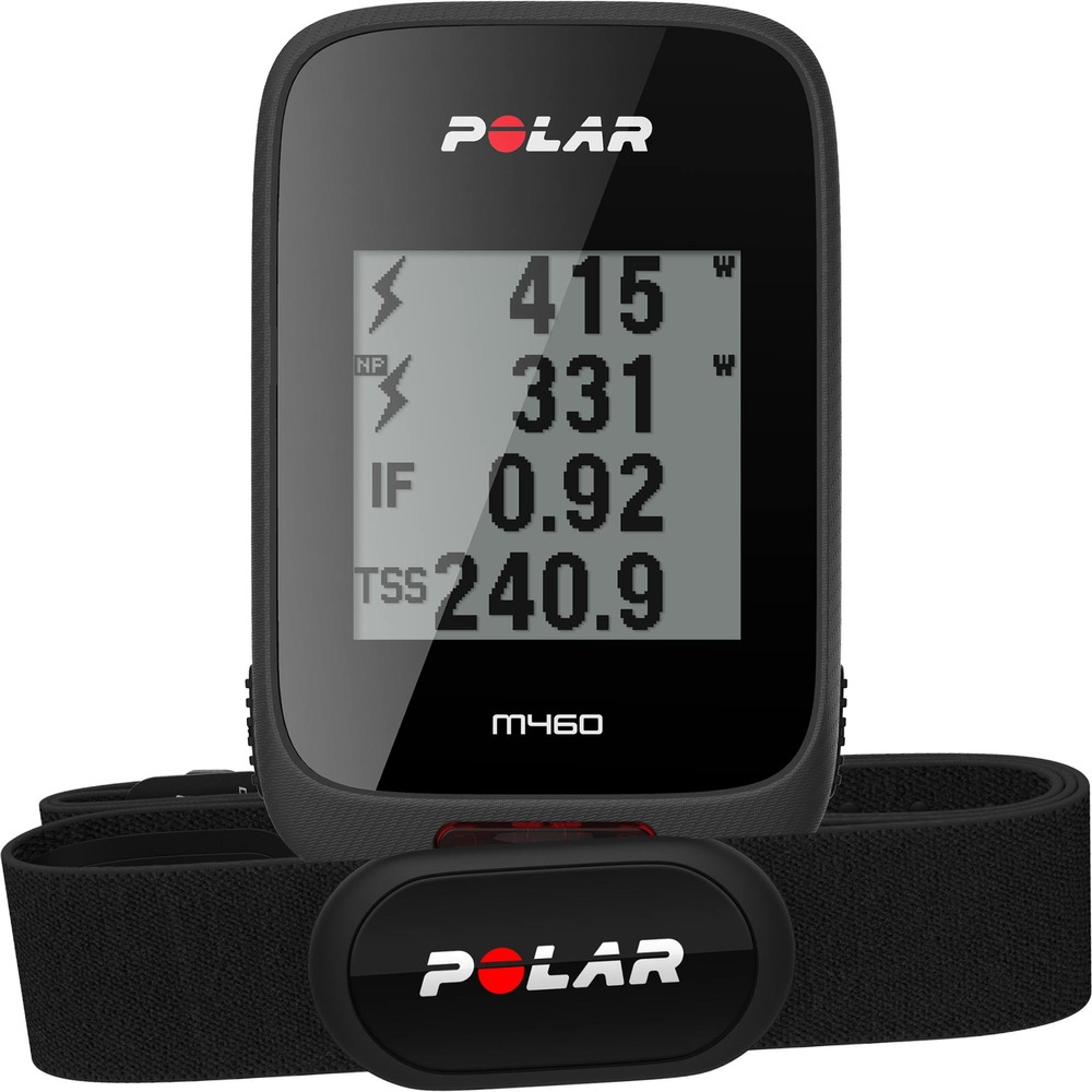 Polar M460 GPS Cycling Computer With H10 HRM Sensor