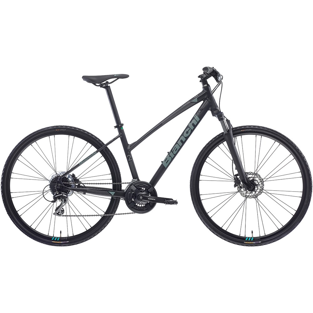 Bianchi C-Sport Cross 2 L Acera Disc Hybrid Bike 2021