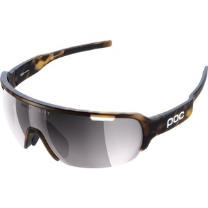POC Do Half Blade Sunglasses Tortoise With Violet/Silver Mirror Lens