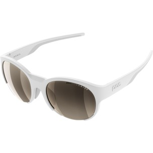 POC Avail Sunglasses Hydrogen White With Brown/Silver Mirror Lens