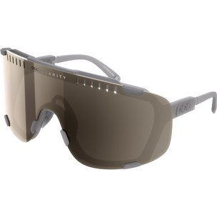 POC Devour Sunglasses Moonstone Grey With Brown/Silver Mirror Lens