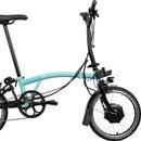 Brompton E-Bike Steel M6L Folding Electric Bike