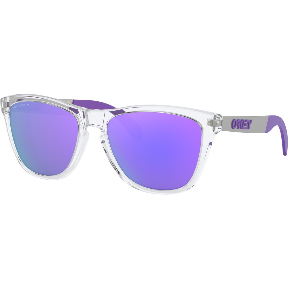 Oakley Frogskins Mix Sunglasses With Prizm Violet Polarized Lens