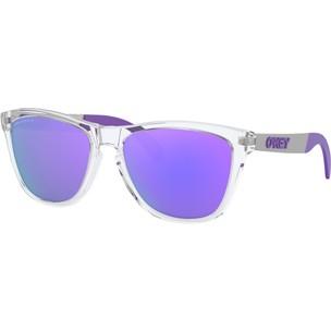Oakley Frogskins Mix Sunglasses With Prizm Violet Polarized Lens