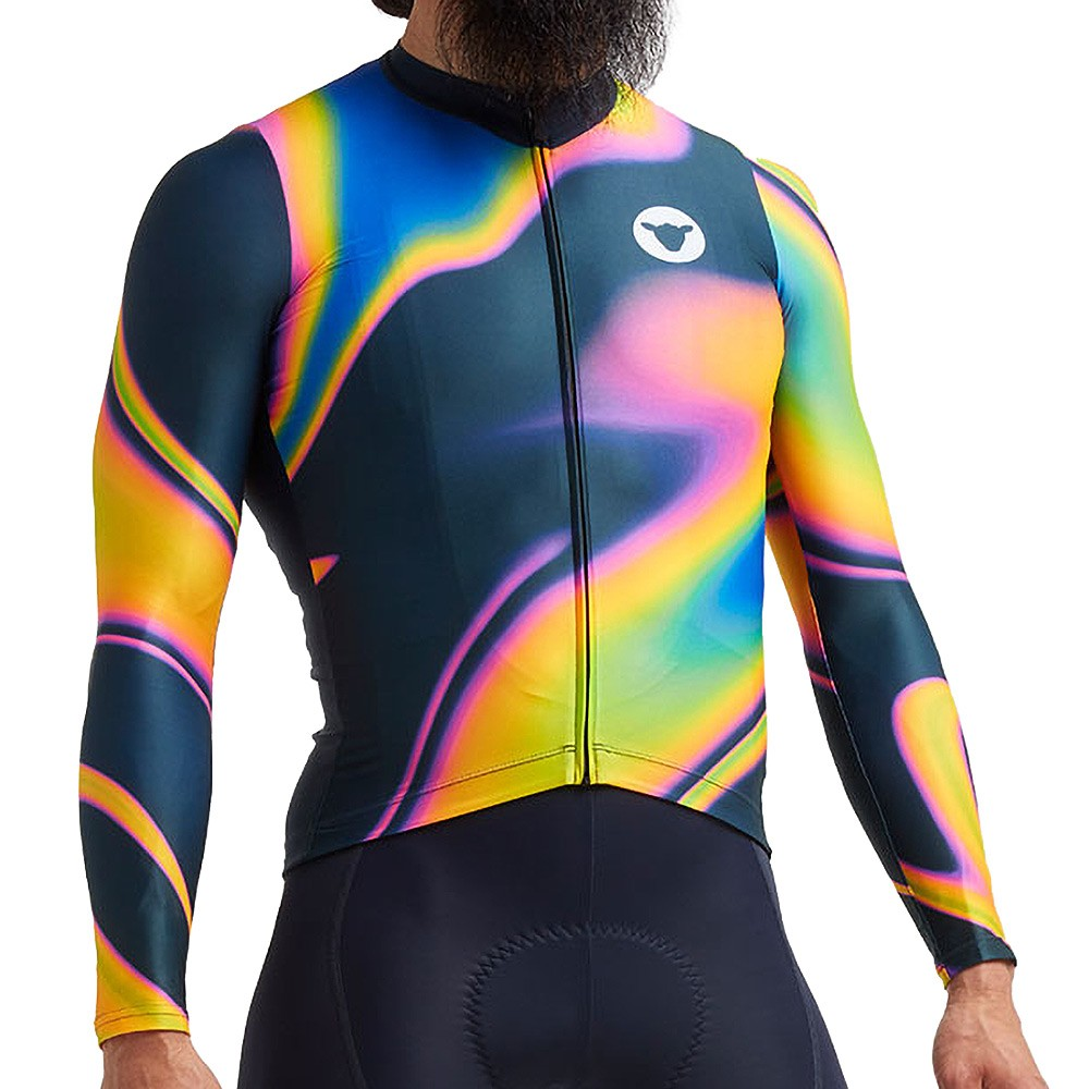Black Sheep Cycling Cyber Punk LTD Prism Flare Long Sleeve Jersey