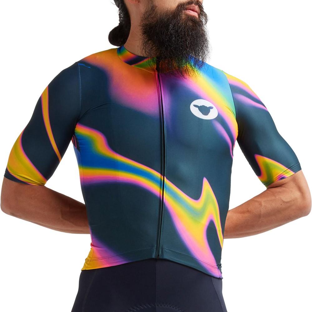 Black Sheep Cycling Cyber Punk LTD Prism Flare Short Sleeve Jersey