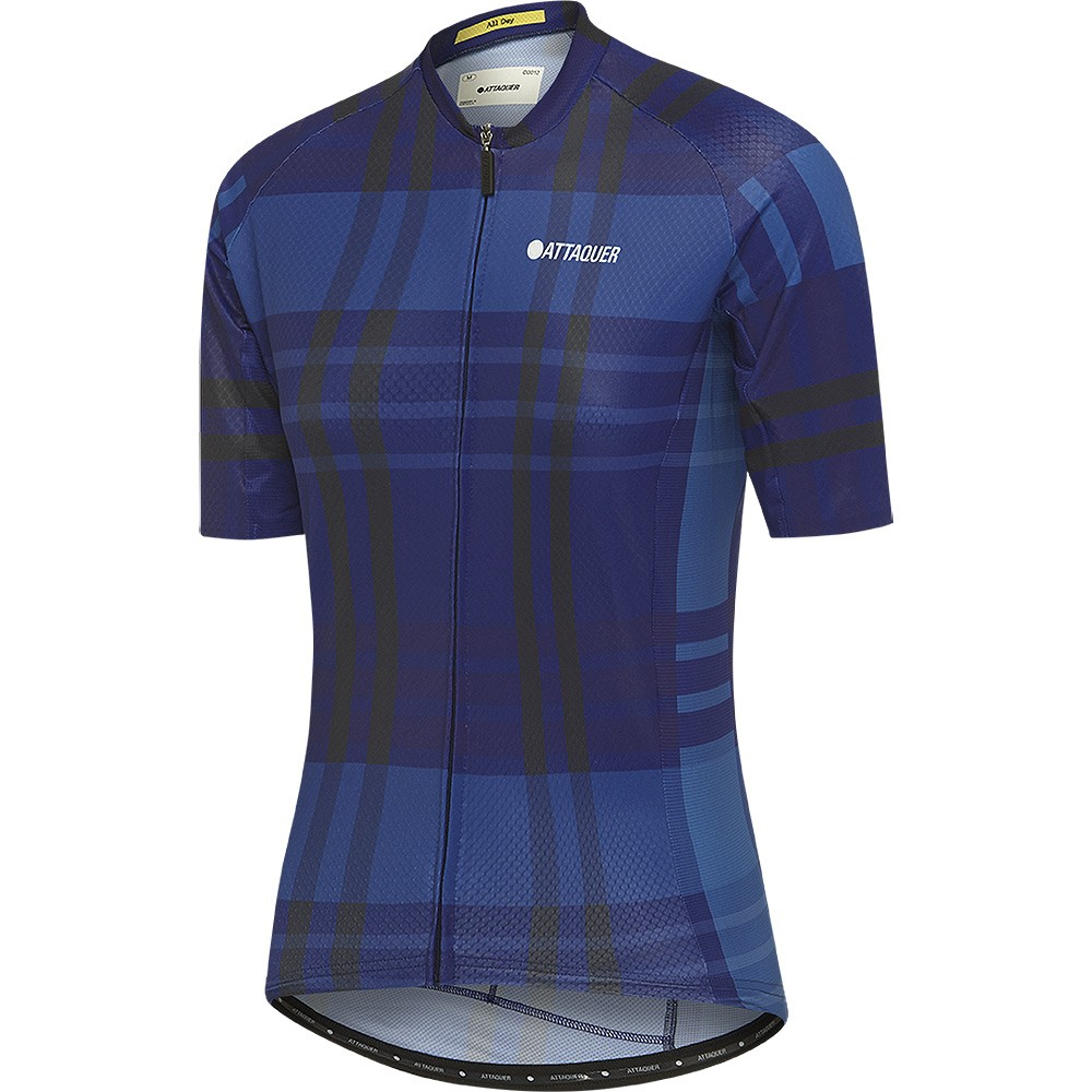 Attaquer All Day Plaid Womens Short Sleeve Jersey