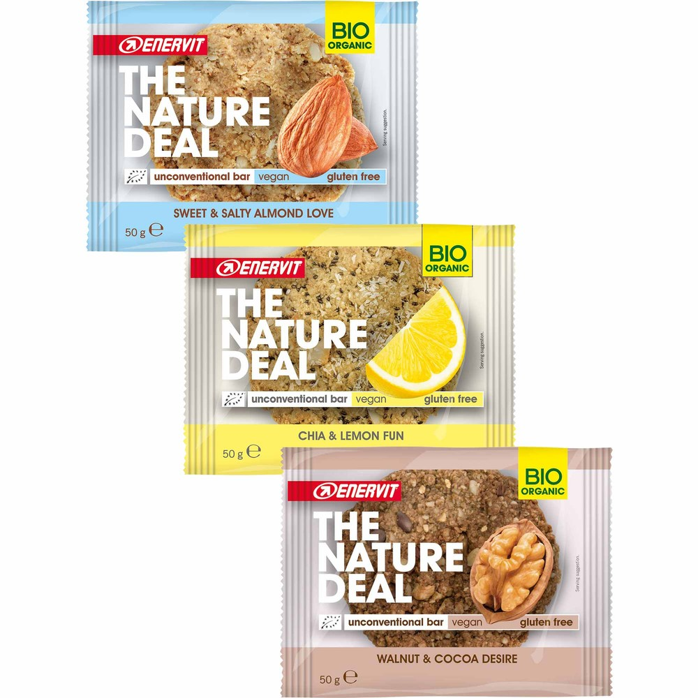 Enervit Nature Deal Cookie Mixed 9 Pack