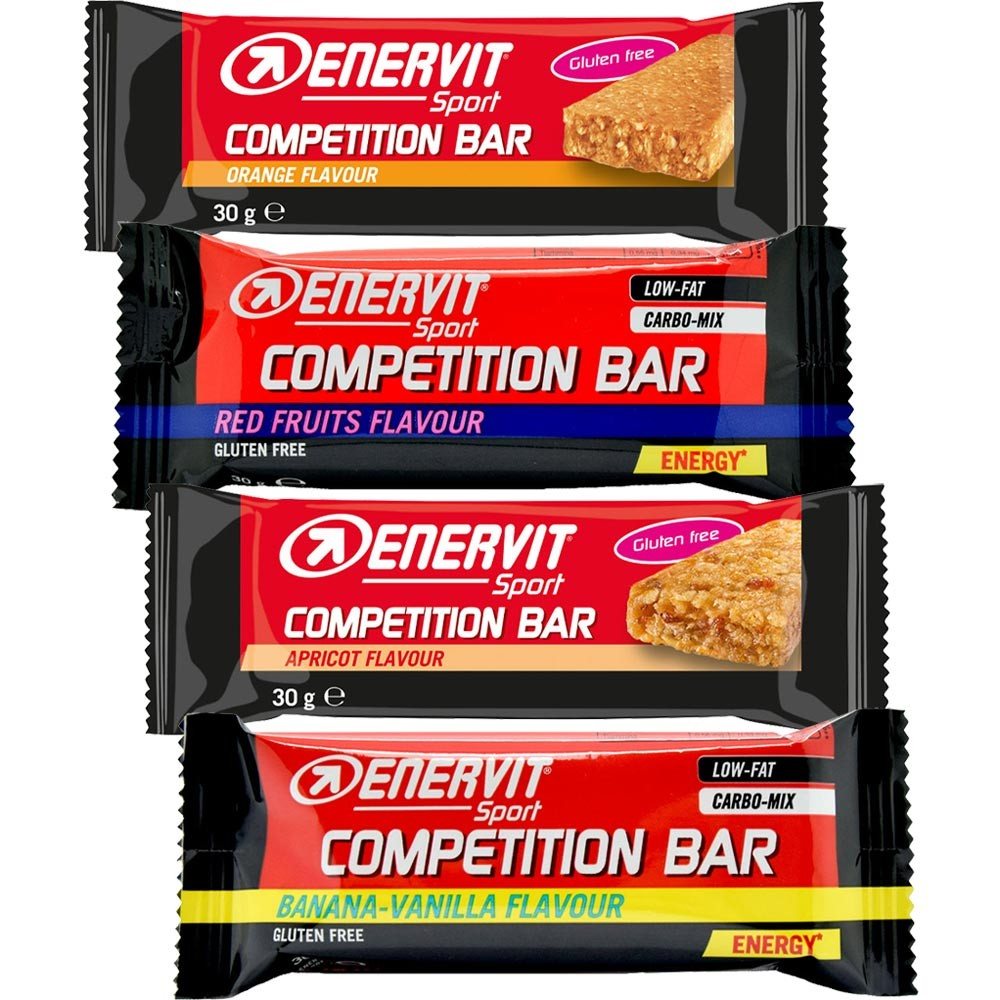 Enervit Competition Bar Variety 8 Pack