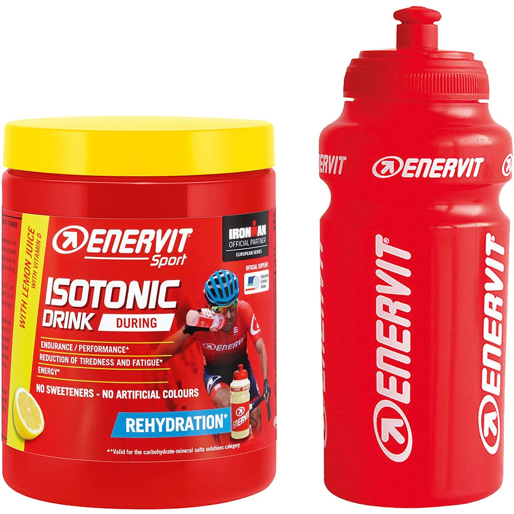 Enervit Isotonic Drink Mix 420g With Bottle