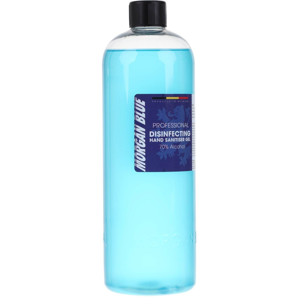 Morgan Blue Hand Sanitiser 70% Alcohol 1L Bottle