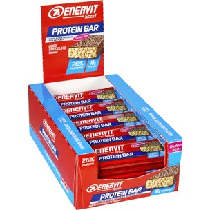 Enervit Protein Bar Box Of 25 X 40g