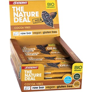 Enervit The Nature Deal Raw Bar Box Of 20 X 30g