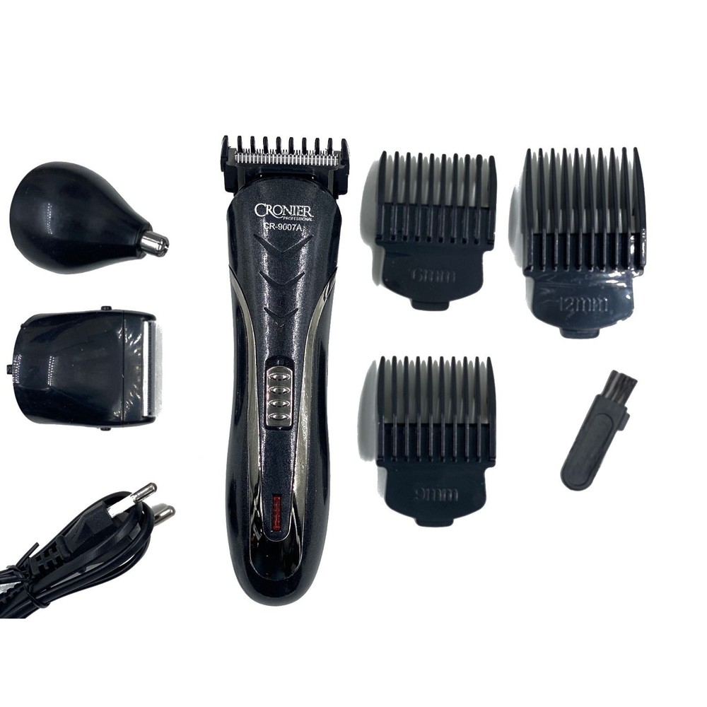 Tuff-Luv 3-in-1 Rechargeable Cordless Hair Trimmer