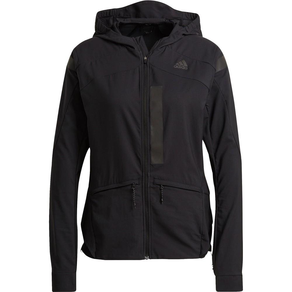 Adidas Marathon Hooded Womens Running Jacket