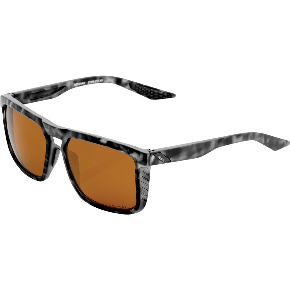 100% Renshaw Sunglasses With Bronze Lens