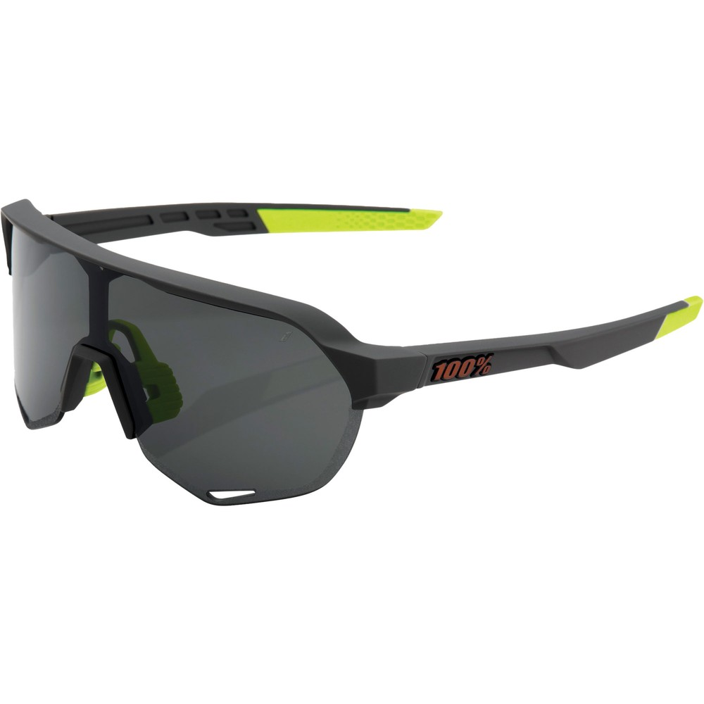 100% S2 Sunglasses With Smoke Lens