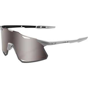 100% Hypercraft Sunglasses With HiPER Silver Mirror Lens