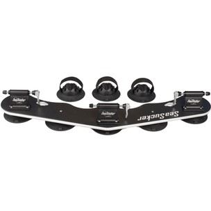 SeaSucker Bomber 3-Bike Fork-Mount Rack With 3 Rear Wheel Straps