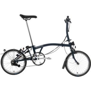 Brompton S6L Superlight Folding Bike With Toolkit