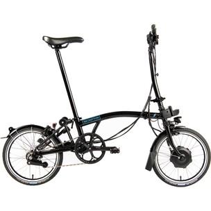 Brompton E-Bike H6L Steel Folding Electric Bike