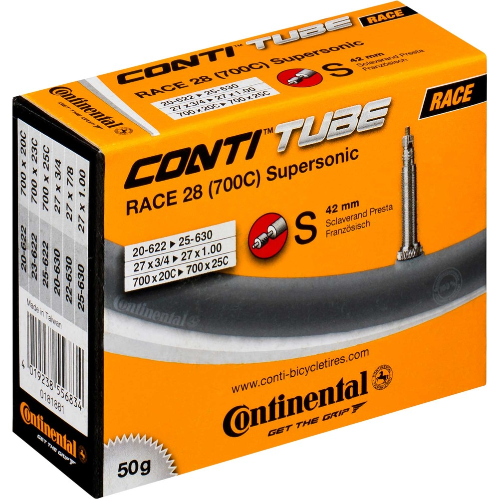 Continental R28 Supersonic 700x20-25C Inner Tube 42mm Presta Valve
