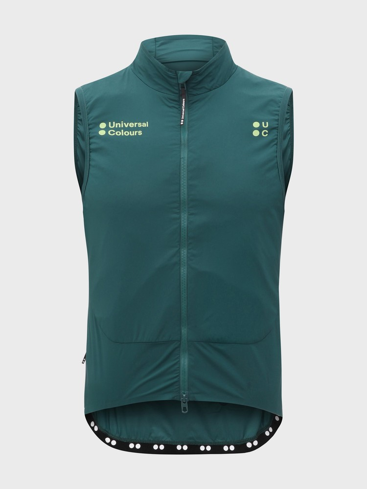 Chroma Insulated Unisex Gilet Spruce Green
