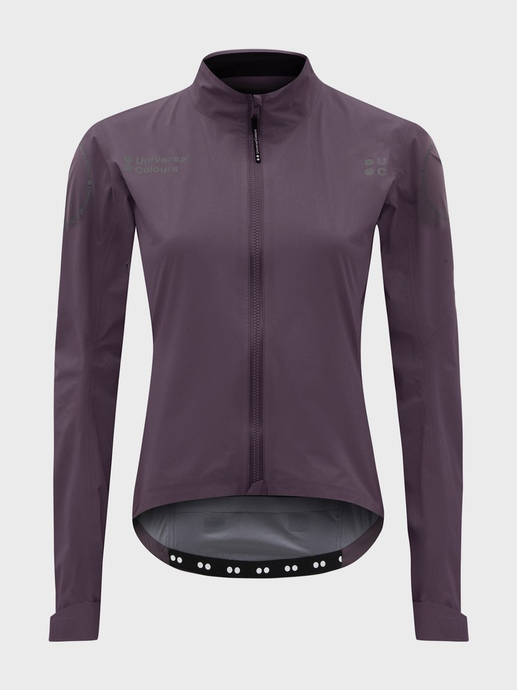 Chroma Women's Rain Jacket Basalt Purple