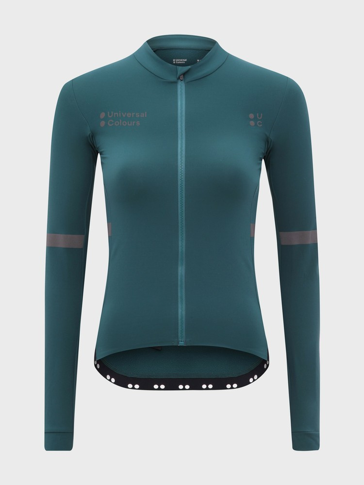 Mono Long Sleeve Women's Jersey Spruce Green