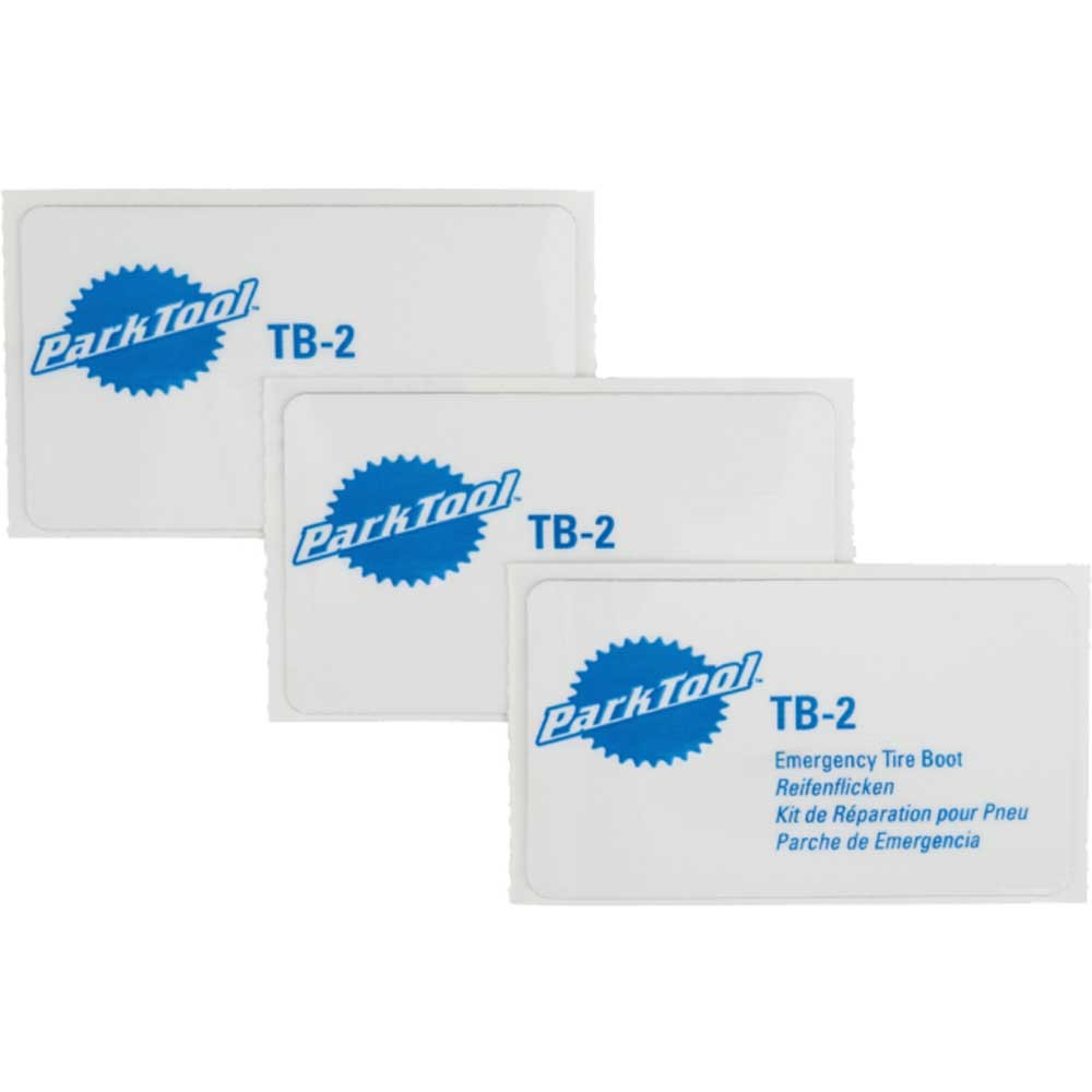 Park Tool TB2 Emergency Tyre Boot (Pack Of 3)