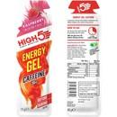 High5 EnergyGel Plus With Caffeine 40g