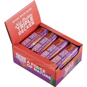 Tribe Triple Decker Bar Box Of 12