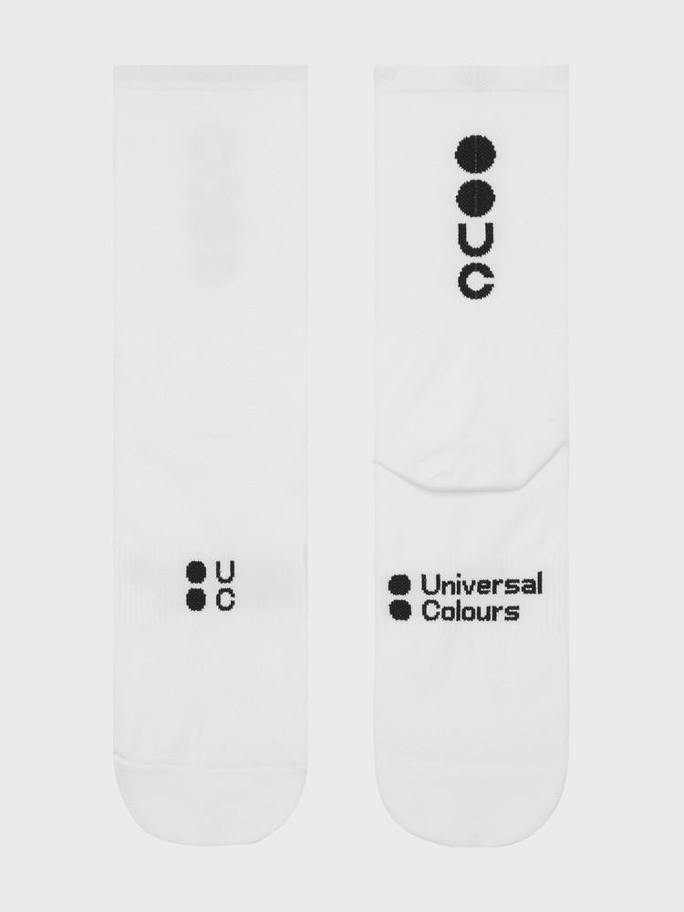 Mono Summer Socks White