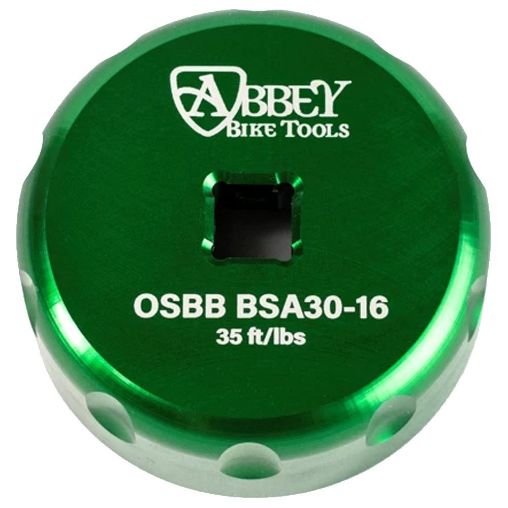 Abbey Bike Tools BSA30 16 Notch Single-Sided Bottom Bracket Socket Tool