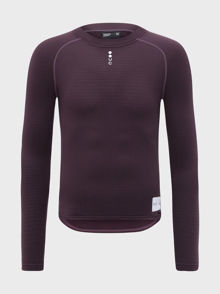Mono Men's Long Sleeve Base Layer Basalt Purple